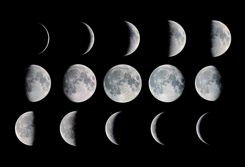 მთვარის ფაზები 2